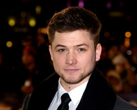 TARON EGERTON ATTENDS THE PREMIERE OF TESTAMENT OF YOUTH AT THE EMPIRE LEICESTER SQUARE, LONDON, UK ON 05/01/2015