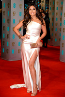 NADIA FORDE ATTENDS EE BRITISH ACADEMY FILM AWARDS ARIVALS AT ROYAL OPERA HOUSE, LONDON, UK ON 08/02/2015