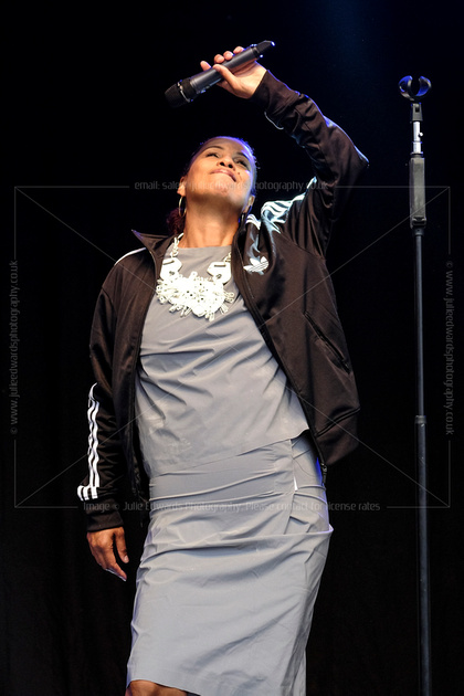 NENEH CHERRY PLAYS FESTIVAL NO. 6, PORTMEIRION, UK ON 05/09/2014