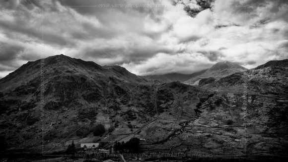 MOUNT SNOWDON AT SNOWDONIA, LLANBERIS, UK ON 15/05/2015