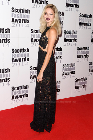 NINA NESBITT ATTENDS SCOTTISH FASHION AWARDS AT 8 NORTHUMBERLAND, LONDON, UK ON 01/09/2014