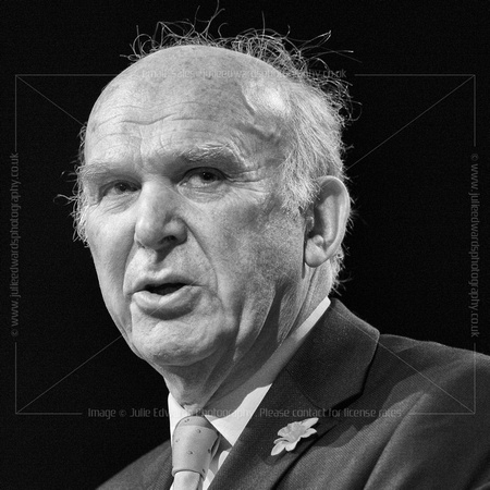 RT HON DR VINCE CABLE MP, LIBERAL DEMOCRATS SPRING CONFERENCE 2015 AT BT CONVENTION CENTRE, LIVERPOOL, UK ON 14/03/2015