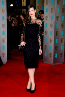ALMA JODOROWSKY ATTENDS EE BRITISH ACADEMY FILM AWARDS ARIVALS AT ROYAL OPERA HOUSE, LONDON, UK ON 08/02/2015