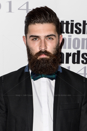 CHRISTOPHER MILLINGTON ATTENDS SCOTTISH FASHION AWARDS AT 8 NORTHUMBERLAND, LONDON, UK ON 01/09/2014