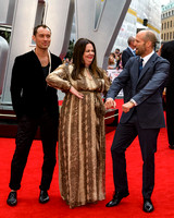 MELISSA MCCARTHY, JUDE LAW AND JASON STATHAM ATTENDS EUROPEAN PREMIERE OF SPY AT ODEON LEICESTER SQUARE, LONDON, UK ON 27/05/2015