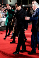 JOHNNY DEPP ATTENDS UK PREMIERE OF MORTDECAI AT THE EMPIRE LEICESTER SQUARE, LONDON, UK ON 19/01/2015