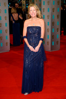 LISA BRUCE ATTENDS EE BRITISH ACADEMY FILM AWARDS ARIVALS AT ROYAL OPERA HOUSE, LONDON, UK ON 08/02/2015