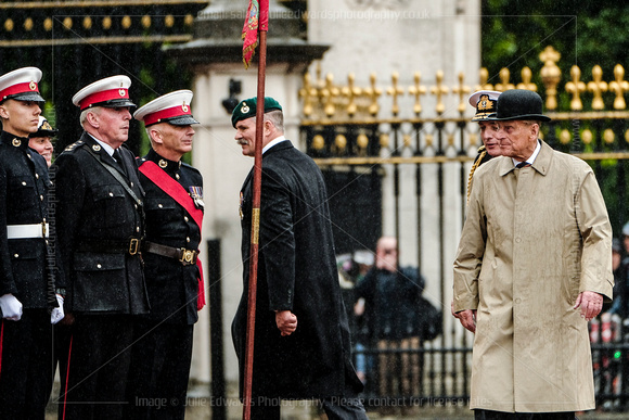 Duke of Edinburgh attends The Captain General's Parade
