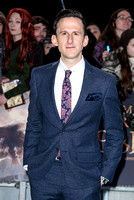 ADAM BROWN ATTENDS THE WORLD PREMIERE OF THE HOBBIT: THE BATTLE OF 5 ARMIES AT THE EMPIRE LEICESTER SQUARE, LONDON, UK ON 01/12/2014