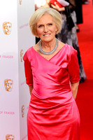 MARY BERRY ATTENDS HOUSE OF FRASER BRITISH ACADEMY TELEVISION AWARDS 2015 AT THEATRE ROYAL, DRURY LANE, LONDON, UK ON 10/05/2015