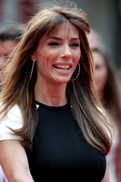 JENNIFER FLAVIN ATTENDS WORLD PREMIERE OF THE EXPENDABLES 3 AT ODEON LEICESTER SQUARE, LONDON, UK ON 04/08/2014