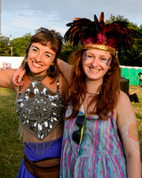 ATMOSPHERE AT WOMAD - WORLD OF MUSIC, ARTS AND DANCE AT CHARLTON PARK, MALMESBURY, UK ON 25/07/2014