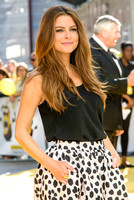 MARIA MENOUNOS ATTENDS THE WORLD PREMIERE OF 'MINIONS'  AT ODEON LEICESTER SQUARE, LONDON, UK ON 11/06/2015