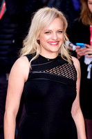 Elisabeth Moss arrives on the red carpet for the London Film Festival screening of {suppcat3}