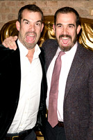 CHRIS VAN TULLEKEN, XAND VAN TULLEKEN ATTENDS BAFTA CHILDRENS AWARDS AT THE ROUNDHOUSE, LONDON, UK ON 23/11/2014