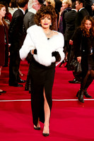 JOAN COLLINS ATTENDS THE CBTF ROYAL FILM PERFORMANCE 2015: THE WORLD PREMIERE OF SPECTRE AT ROYAL ALBERT HALL, LONDON, UK ON 26/10/2015