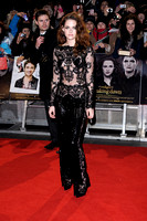 LEAD ACTRESS KRISTEN STEWART ATTENDS UK PREMIERE OF THE TWILIGHT SAGA BREAKING DAWN PART 2 AT THE EMPIRE LEICESTER SQUARE, LONDON, UK ON 14/11/2012