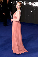 JESSICA CHASTAIN ATTENDS THE EUROPEAN PREMIERE OF INTERSTELLAR AT ODEON LEICESTER SQUARE, LONDON, UK ON 29/10/2014