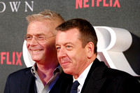 Writer Peter Morgan and Stephen Daldry