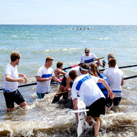 SUNNY SKIES FOR WORTHING REGATTA AT WORTHING ROWING CLUB, WORTHING,  ON 02/08/2015
