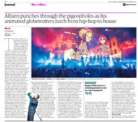 The Guardian 19/11/2017 Damon Albarn and Gorillaz