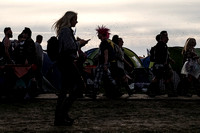Glastonbury Festival Atmosphere Thursday