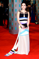 PHOEBE FOX ATTENDS EE BRITISH ACADEMY FILM AWARDS ARIVALS AT ROYAL OPERA HOUSE, LONDON, UK ON 08/02/2015