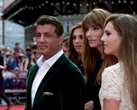 SYLVESTER STALLONE ATTENDS WORLD PREMIERE OF THE EXPENDABLES 3 AT ODEON LEICESTER SQUARE, LONDON, UK ON 04/08/2014