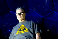 26/10/2014: The Eden Project, Cornwall. Mark Kermode presents the 1972 film Silent Running.