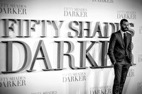 Fifty Shades Darker UK Premiere at ODEON Leicester Square on 09/02/2017